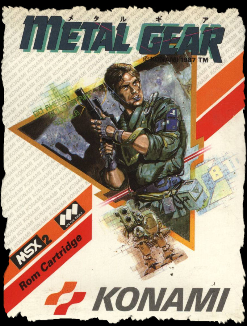 Metal Gear (1987, Konami/Ultra)